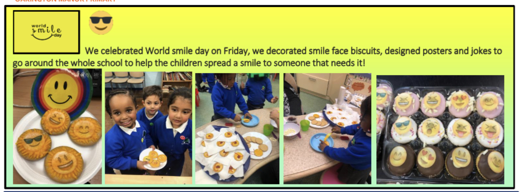 Smile day in EYFS